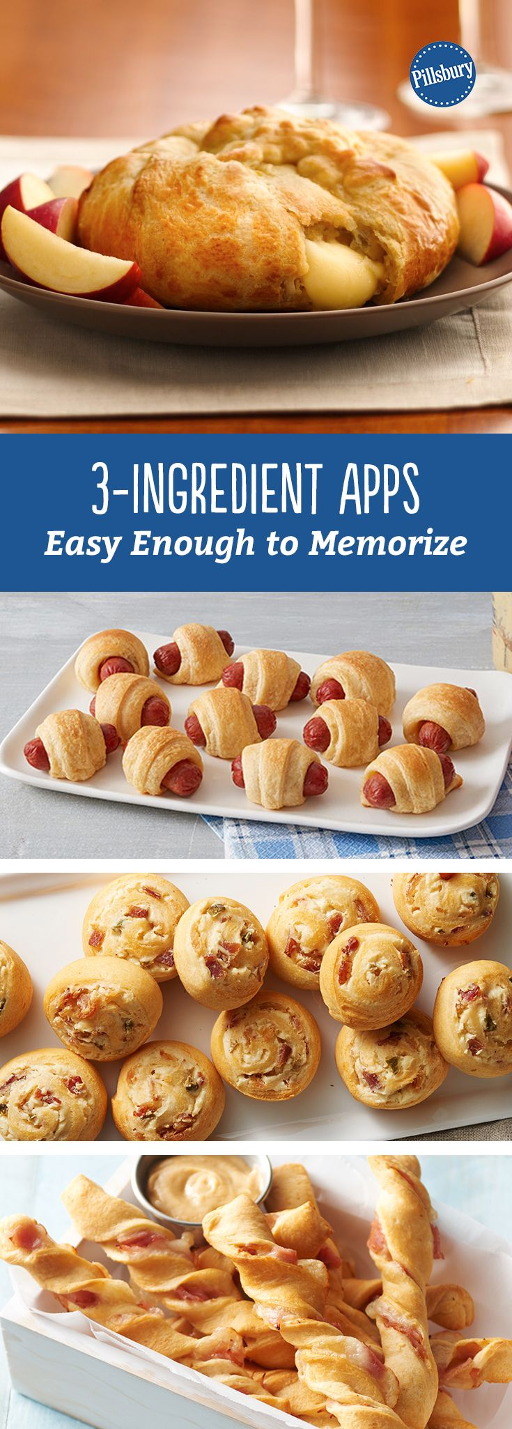 3-Ingredient Apps Easy Enough to Memorize: All the un-recipe recipes you need to throw the best party ever.