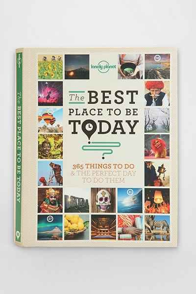 Coffee Table Books: The Best Place To Be Today By Lonely Planet - Urban Outfitters