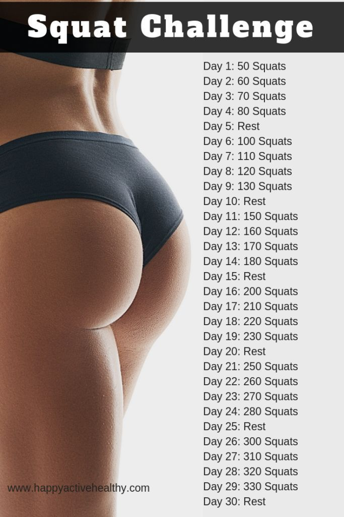 Get the bubble butt you've always wanted with these booty workouts and challenge…