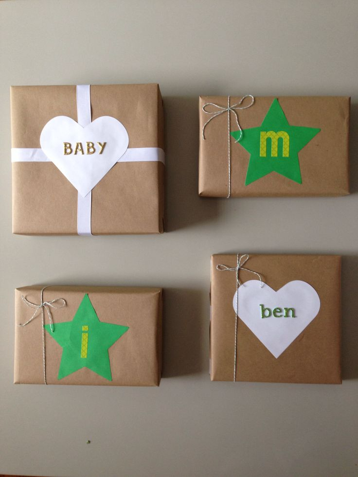 New Baby Gift Wrapping Ideas : Images about gift wrapping ideas on