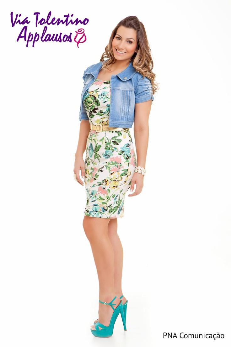 floral, vestido