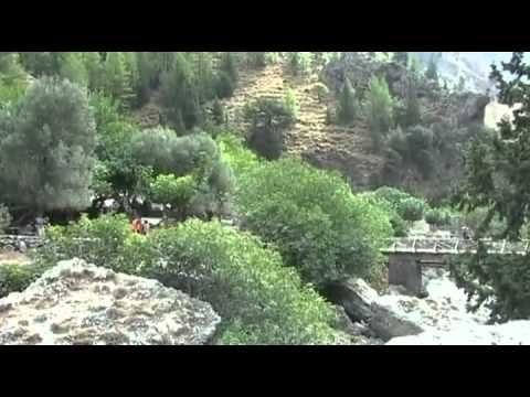 Samaria Gorge, Crete, is the longest gorge in Europe and one of the most important natural sights in Greece.    Samaria Gorge is the most renowned natural formation in Crete and Greece.