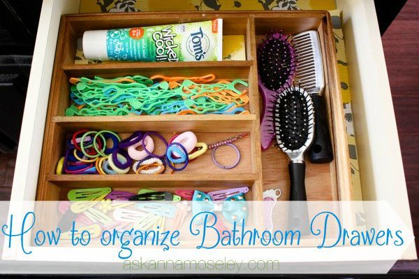 17 Best Images About Organizing Bathroom On Pinterest