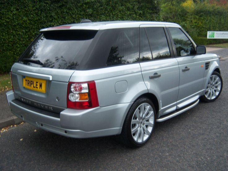 "2006 Range Rover Sport 2.7 TDV6 HSE 5-door auto estate. Silver. 20"" Stormer alloys. Service history. Click on pic shown for loads more."