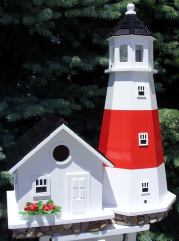 17 Best Images About Bird House And Lighthouse Bird Houses