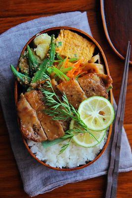 ポークソテー弁当 | 日本の片隅で作る、とある日のお弁当