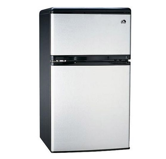 Compact Mini Fridge 3.2 Cu Ft Refrigerator Freezer Dorm Appliances Home Office Product Description: Keep your groceries fresh and your beverages cold with this compact mini fridge. This 3.2-Cubic Foot