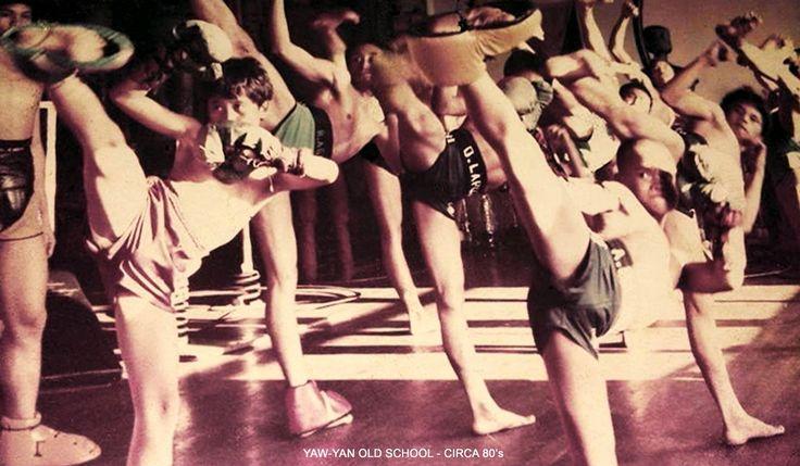 Old school, boys of Yaw-Yan temple Quiapo Manila (circa 1980).
