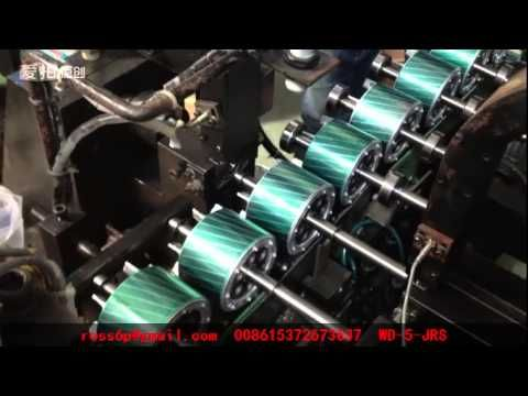 fully automatic rotor turning machine assembly line