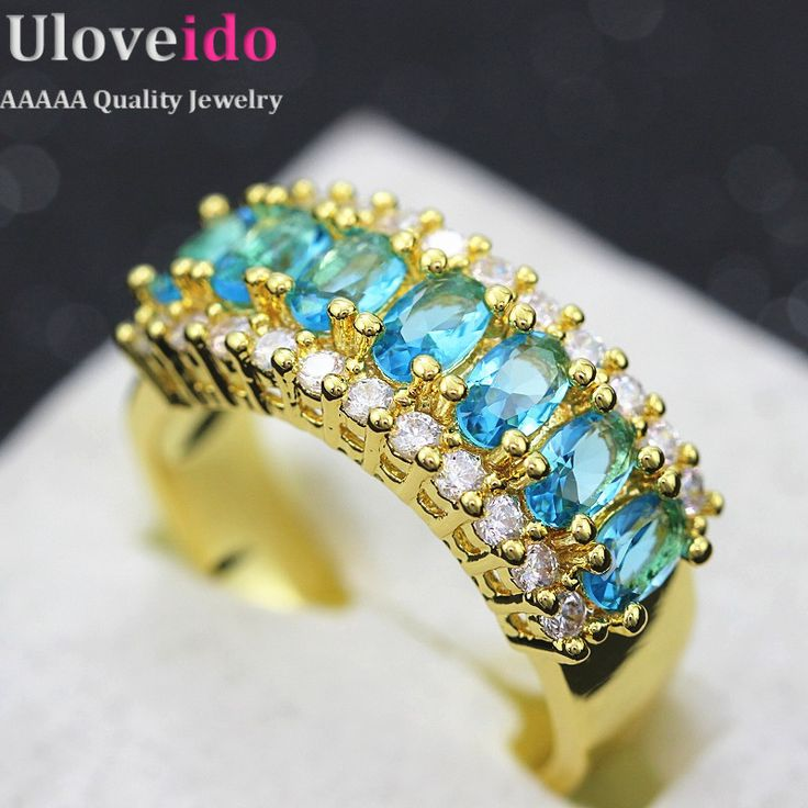 Find More Rings Information about 50% off Fashion Big Engagement Ring with Stone for Woman New Year gifts 18k Gold Plated Jewelry Silver Rings with Crystals J501,High Quality ring transformer,China ring carbide Suppliers, Cheap ring smile from ULOVE Fashion Jewelry on Aliexpress.com