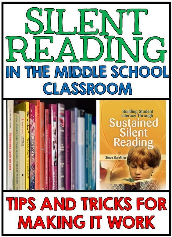 Silent Reading in the Middle School Classroom - Tips and Tricks for Making it Work!