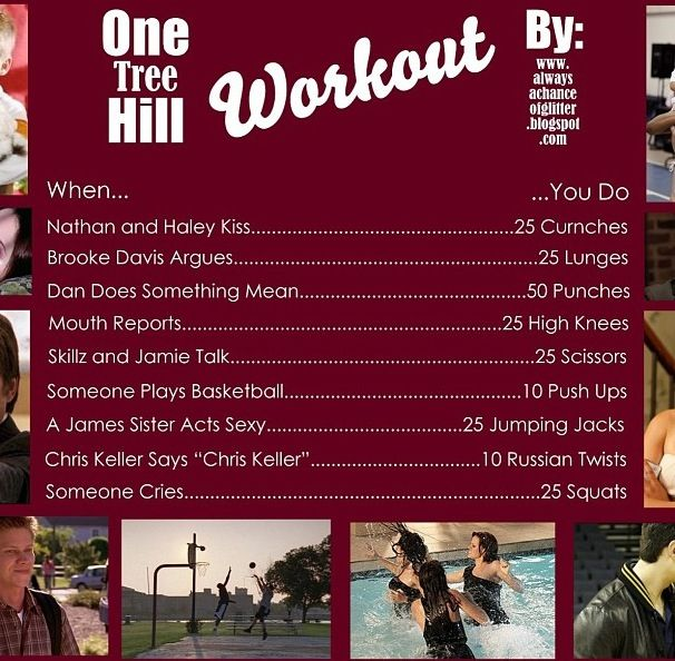 One tree hill workout