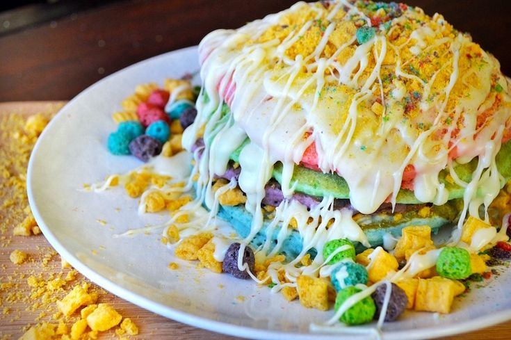 These Cap'n Crunch Berry Pancakes Are the Perfect Wake up Call
