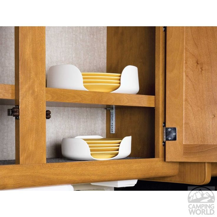 Stack-a-Plate - Organize your cabinets and stop plates from sliding and rattling.