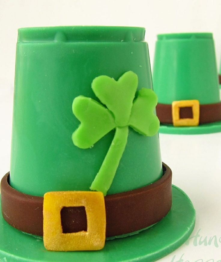 Mouth watering leprechaun hats