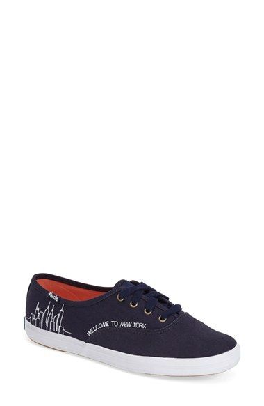 Keds® Taylor Swift 'Champion - NYC' Sneaker (Women) (Nordstrom Exclusive) available at #Nordstrom