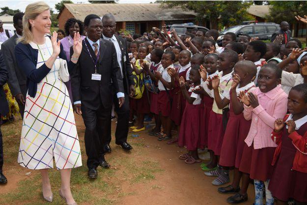 La comtesse Sophie de Wessex au Malawi, le 15 mars 2017
