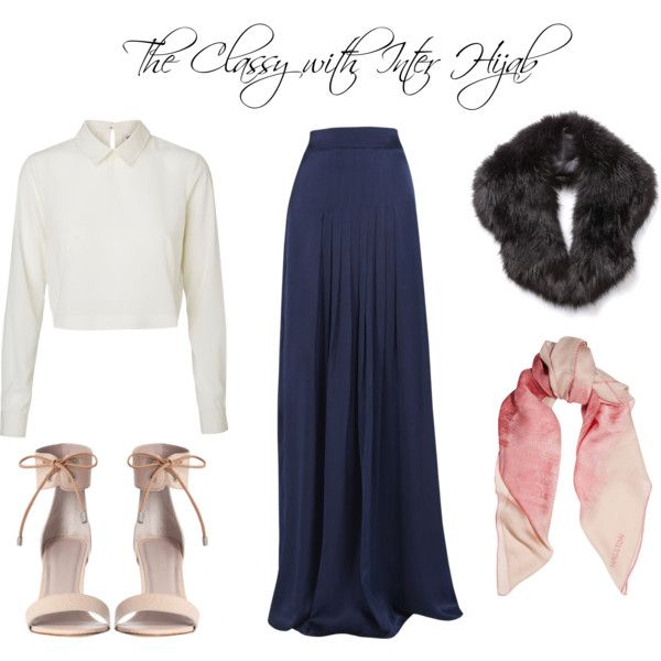 U0026quot;The classy with Inter Hijabu0026quot; by interhijab on Polyvore | Bridal ideas for hijabis | Pinterest ...