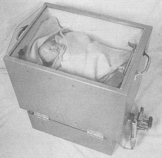Portable Incubator, Circa 1940.