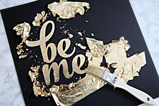 I knew that I really loved the Mr. & Mrs. DIY gold foil art that we created for our master bedroom update , but I didn't realize just what a...