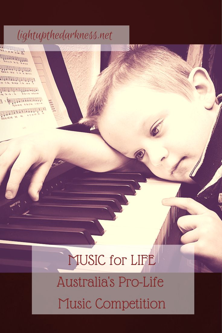 Music for Life: Australia's Pro-Life Music Competition