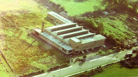 Franklins factory in the 1960's