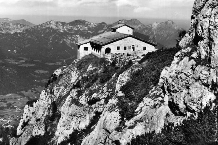 eagels nest obove Berchtesgaden, Germany Hitler