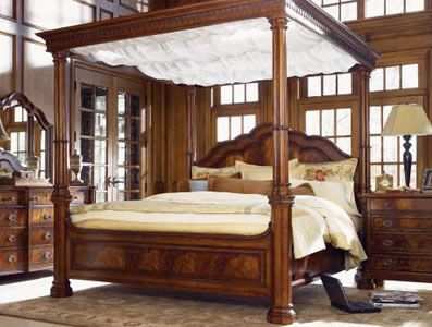 Chateau california king canopy bed bedroom pinterest california king canopy and - Awesome canopy beds ...