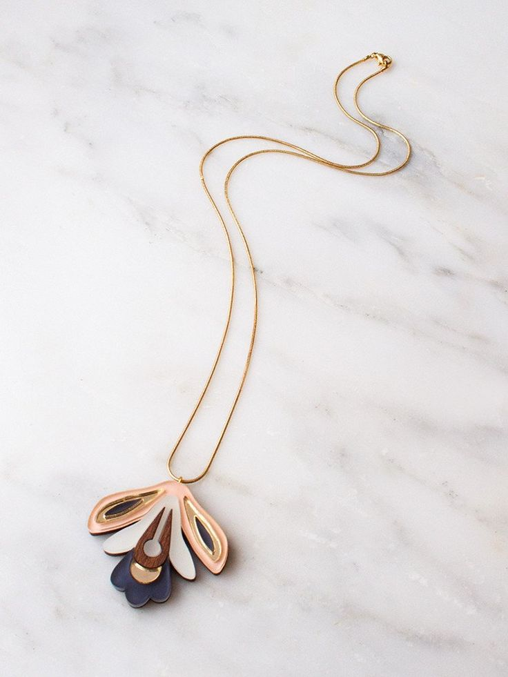 Wallpaper Necklace