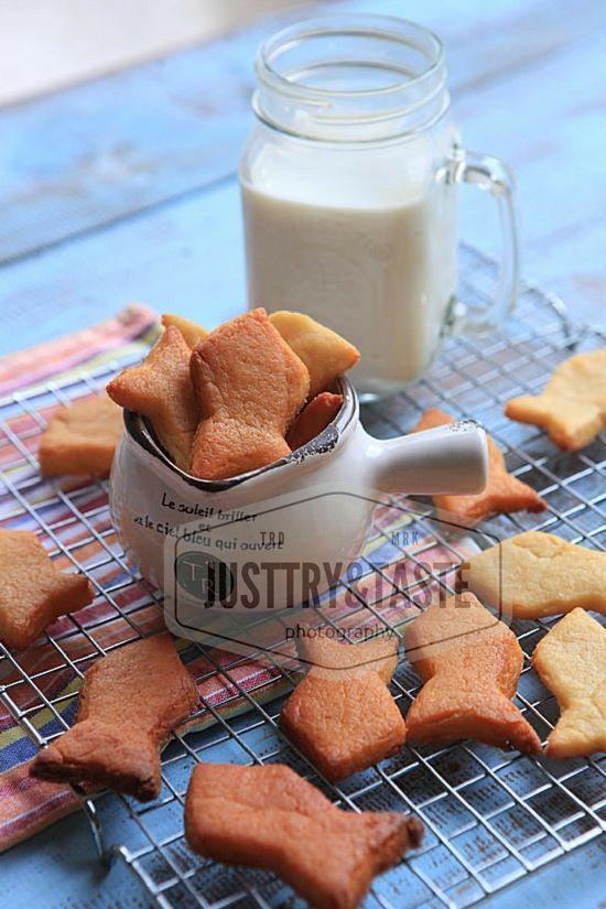 Cookies Keju Ikan Buat si Krucil