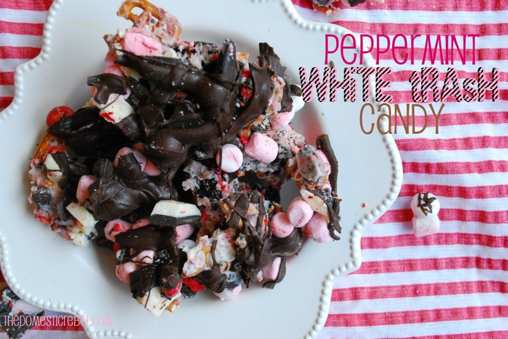 Peppermint White Trash Candy   The Domestic Rebel