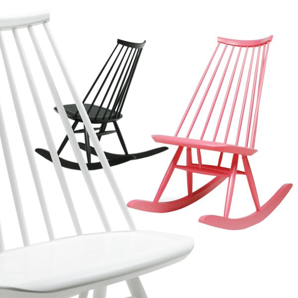 maybe someday. madmoiselle rocking chair by ilmari tapiovaara / artek. my favourite peace of finnish design. want dining chairs for kitchen