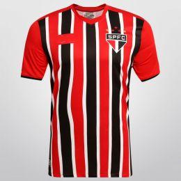 Sao Paulo FC 2015-16 Season Away Red&Black Jersey [PF183515551]