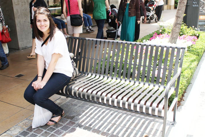 The Grove Bench, Los Angeles