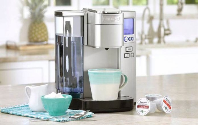 Feature Cuisinart Ss10 Single Serve Coffee Makers K Cup Coffee Maker Kitchen Faucet Parts