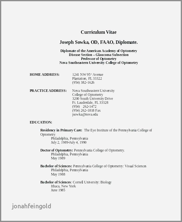 74 Awesome Stock Of Resume Examples for Highschool Students In Word