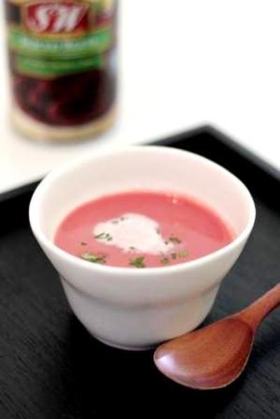 ピンクが可愛い!ビーツのスープ by スペイン料理教室主宰★武田典子 ...