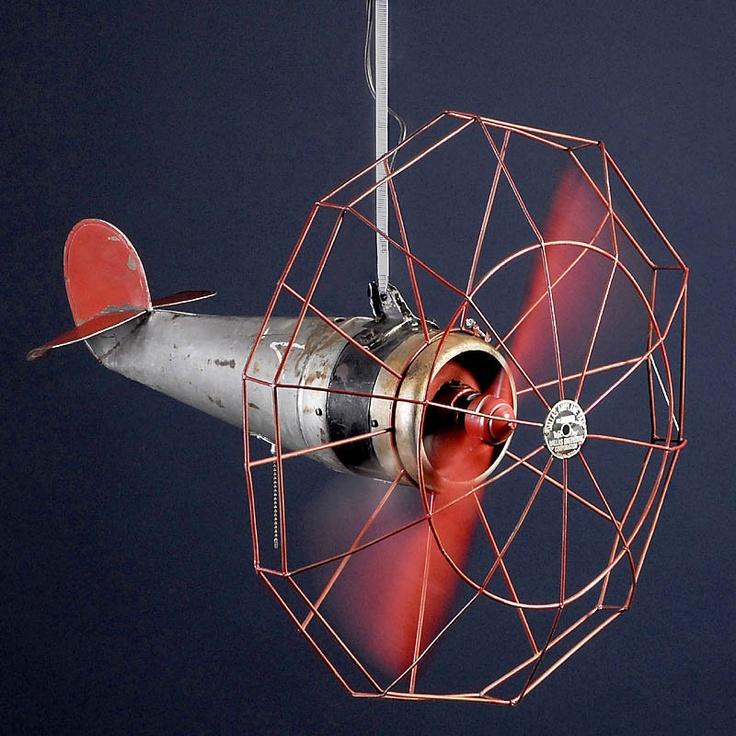 Plane Propeller Ceiling Fan : Ideas about airplane ceiling fan on pinterest
