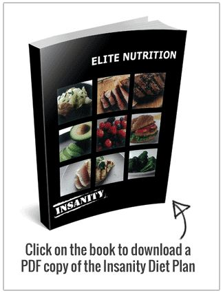 Insanity Diet Plan → Is Their Nutrition Guide Good Enough? - http://workoutwok.com/insanity-diet-plan