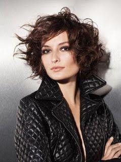 Tagli Capelli by Estetica.it: Taglio capelli mossi: lo stile della rock star