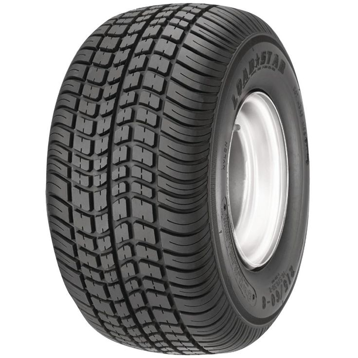 205/65-10 K399 Bias 910 lb. Load Capacity White 10 in. W Profile Trailer Tire and Wheel Rim Assembly