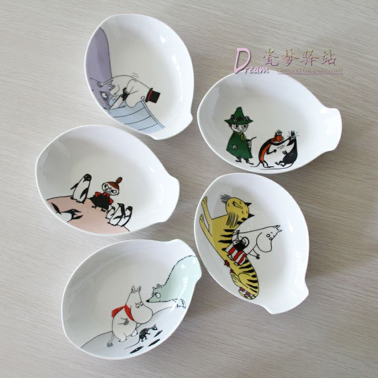 Moomin set ceramic fish bone plate hot pot spices disk fruit plate japanese style ceramic-inDishes & Plates from Home & Garden on Aliexpress... http://www.aliexpress.com/item/Moomin-set-ceramic-fish-bone-plate-hot-pot-spices-disk-fruit-plate-japanese-style-ceramic/1486826150.html