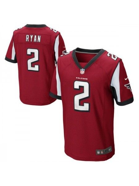 Atlanta Falcons #2 Matt Ryan Red Jersey | Basketball is the best  for cheap