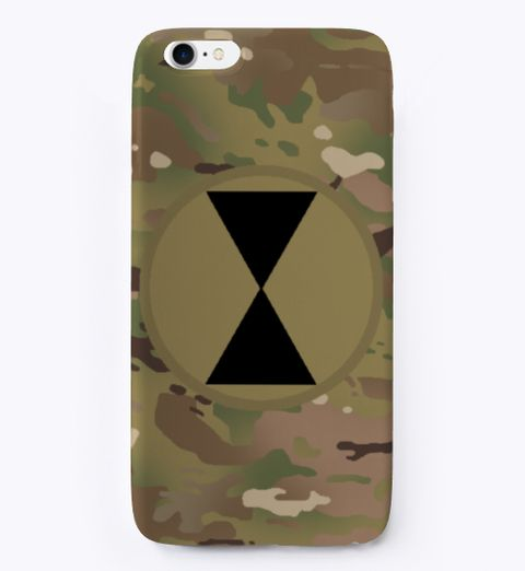 7th Infantry Division Camouflage iPhone Case
