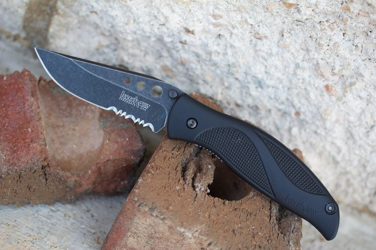 Kershaw 1560BWST Whirlwind. ONE TOUGH KNIFE THAT'S EVER-READY FOR WORK, UTILITY, AND EVERY DAY CARRYING. http://kcoti.com/1lSMQjY