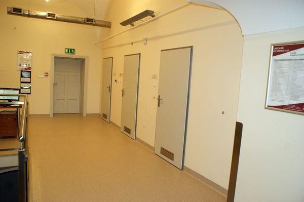 Przebudowa pomieszczeń po kuchni i poradniach specjalistycznych z ich adaptacją dla potrzeb rehabilitacji -  zakończenie inwestycji wrzesień 2013