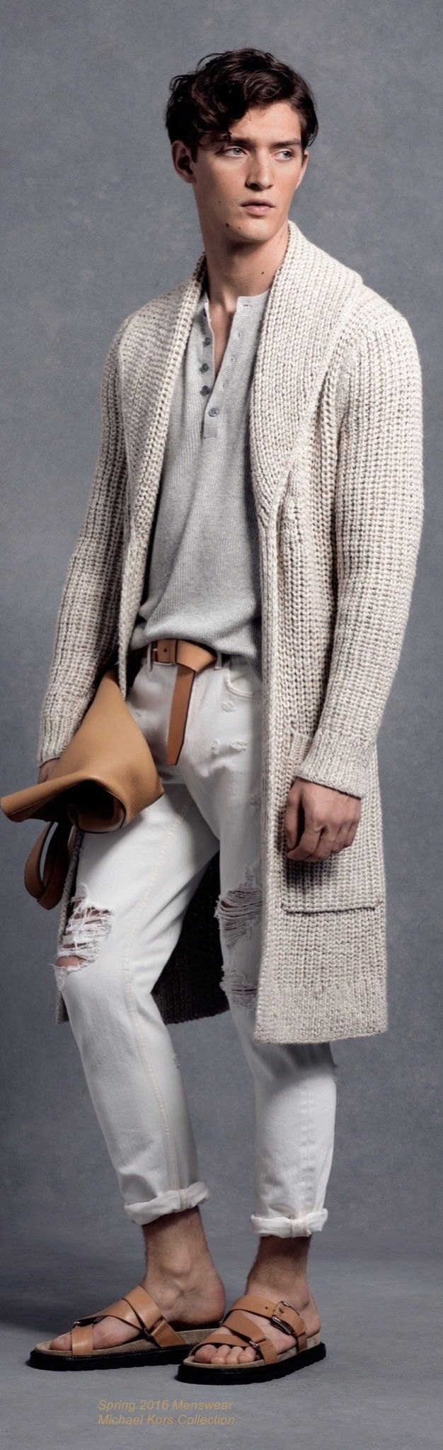 Spring 2016 Menswear Michael Kors Collection