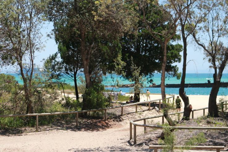 Really, really close to the beach. The Wrecks campground at Tangalooma on Australia's Moreton Island. What a magical place!