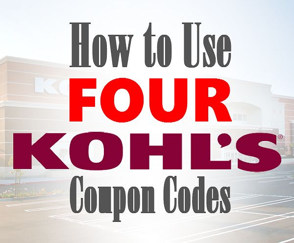 880 best coupons and deals images on pinterest money savers how to use four kohls coupon codes kohls stackable coupons fandeluxe Gallery