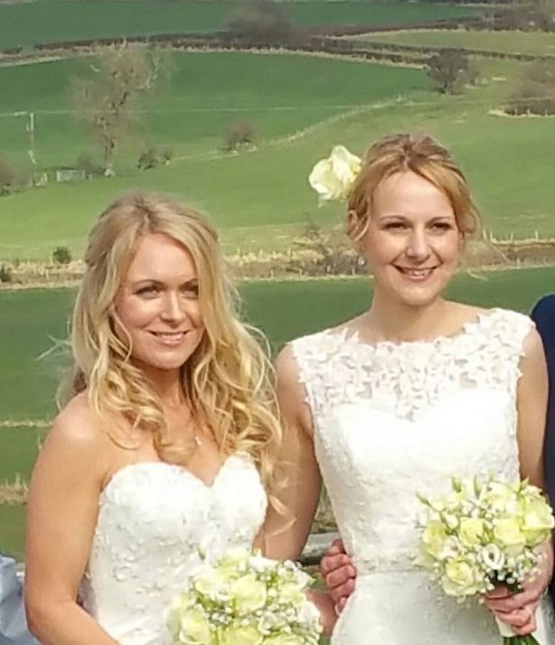 Emmerdale actress Michelle Hardwick has married her partner Rosie Nicholl in a stunning Yorkshire ceremony